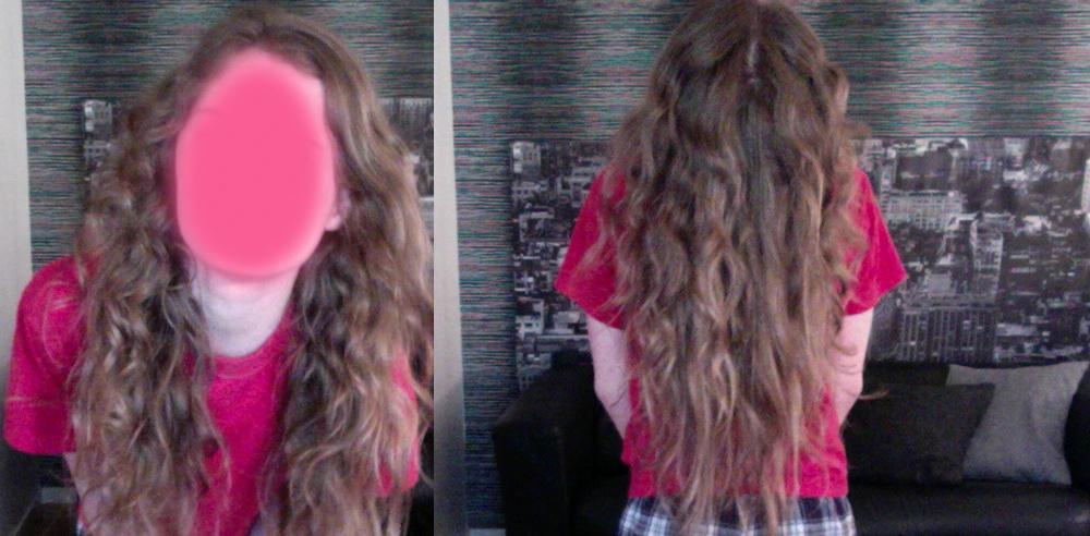 När jag plattat det så lockas håret upp lätt igen bara vid lite fukt. Så  vilken tror ni jag skulle kunna ha   ) 21e330bb5d9f0