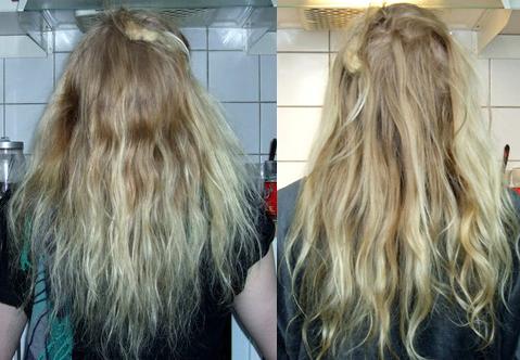 spara ut håret