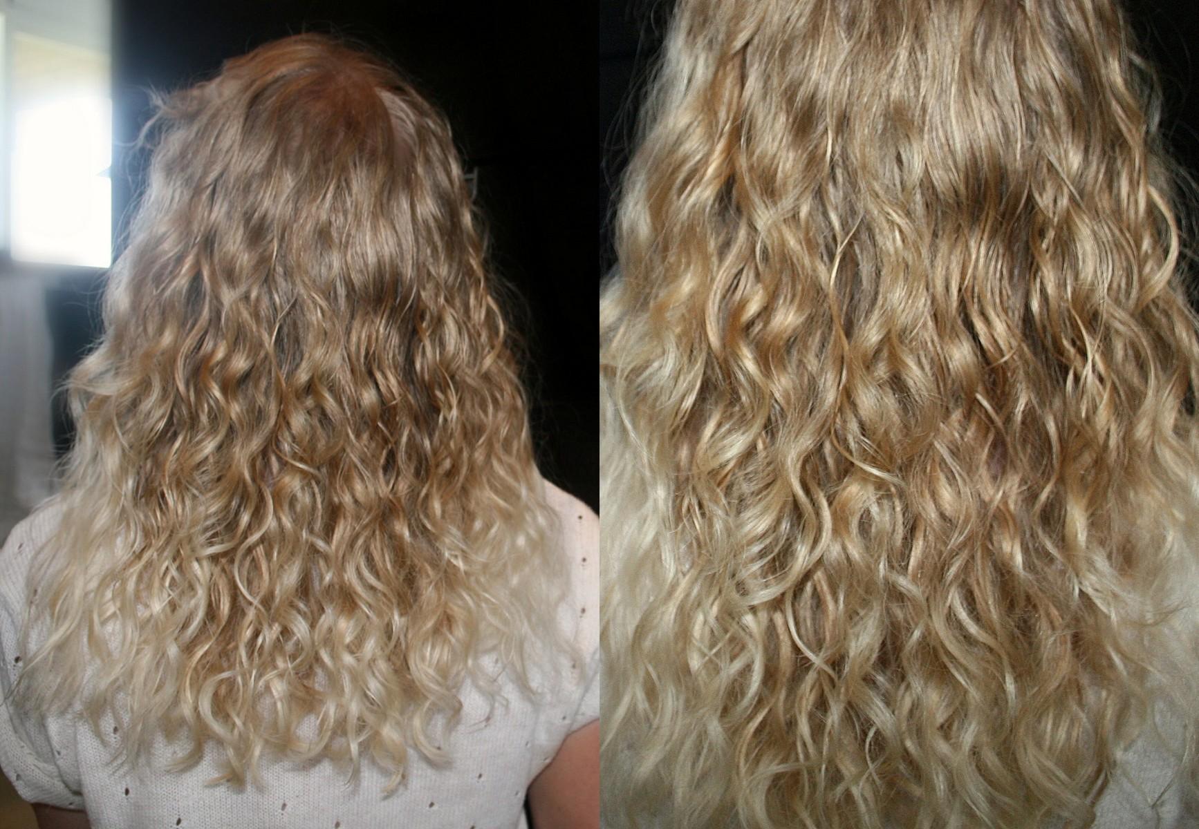 tunt frissigt hår