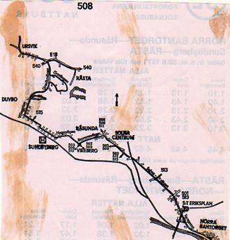 karolinska sjukhuset karta